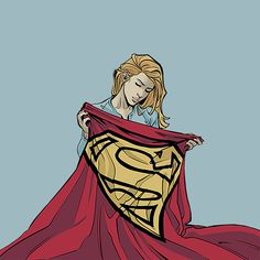 Supergirl //Credit to the artist