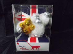 RARE NEW Royal Kipling Monkey Keychain Kate and Baby Monkey Keyfob Ring Gorilla | eBay