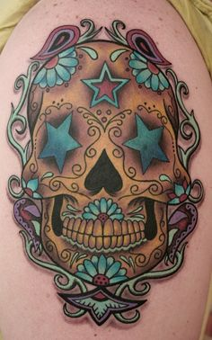 21 Inspiring Sugar Skull Tattoos - My Next Tattoo