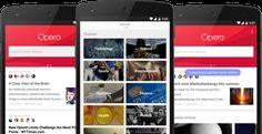 Opera Invites US Users To Test Its Concept 'News & Search' Browser