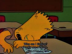 Stumblr Cartoon Quotes, Bart Simpson, Fictional Characters, Fantasy Characters