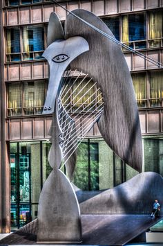 Picasso Sculpture at Daley Plaza, Chicago, Illinois Visit Chicago, Chicago Travel, Chicago City, Chicago Illinois, Pablo Picasso, Landscape Paintings, Acrylic Paintings, Watercolor Paintings, Oil Paintings