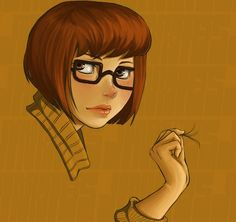 I love stuff like this of Velma, mainly because she is so much prettier than people give her credit for.