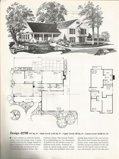 Beautiful Tri Level House Plans #8 1970s Tri Level Home Plans | New on