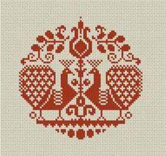 Folkology Cross Stitch – Downloadable Patterns - Folkology - Authentic Folk Crafts and Culture from Hungary (http://www.folkology.com/digital/)
