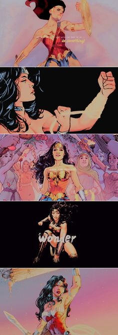 i am who the world needs me to be. i'm wonder woman.