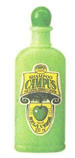 Shampoo Campus alla mela verde. Mai provato, ma mi piaceva moltissimo il colore visto in pubblicità XD