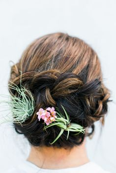 Air Plants in hair, so pretty!  – Beauty Inspiration