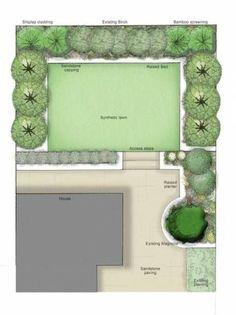 60 trendy garden design rectangle yards