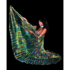 Let these magnificent belly dance Isis wings seduce you, at a discounted price !