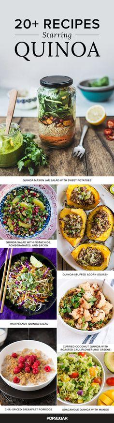 20+ Recipes Starring Quinoa