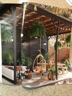 Bringing coziness to your balcony or small terrace shed ., Bringing coziness to your balcony or small terrace shed landscaping Even though historical with concept, the particular pergola may be going through somewhat of a modern day rebirth these. Terraced Backyard, Backyard Gazebo, Backyard Patio Designs, Pergola Patio, Backyard Landscaping, Landscaping Ideas, Back Yard Patio Ideas, Cool Backyard Ideas, Diy Gazebo