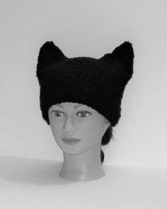 Horizon-t Cat Under The Stars Unisex 100/% Acrylic Knitting Hat Cap Fashion Beanie Hat