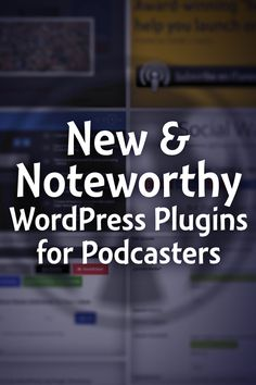 WordPress plugins can make your podcast website even better. Here are the best plugins from 2015 I think podcasters should consider.  Learn more at http://TheAudacitytoPodcast.com/newplugins2015