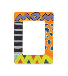 Mother's Day Wood Frame  So many possibilities here! LOVE the simple MOM at the top!