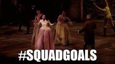 Schuyler Sisters for the win. #HamiltonMusical