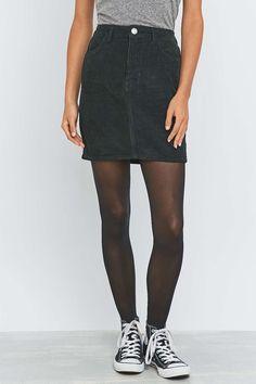 BDG Jumbo Cord Pencil Skirt