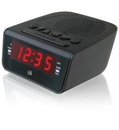 Dual alarm Clock AM/FM Radio