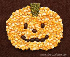 Seed Mosaic Pumpkin for Halloween! Seed Mosaic Pumpkin for Halloween! Seed Art For Kids, Seed Crafts For Kids, Fall Arts And Crafts, Crafts For Seniors, Fun Crafts, Craft Kids, Pumpkin Seed Crafts, Harvest Crafts, Pumpkin Art