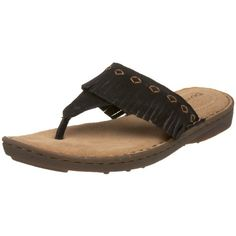 64653b746f6849 BEARPAW Womens Prairie Thong SandalBlack10 M US     You can get additional  details at