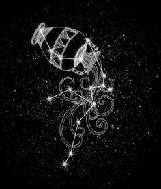 I chose this because I am Aquarius, the water bearer, and which is portrayed through the constellation. Aquarius Symbol, Aquarius Constellation Tattoo, Moon In Aquarius, Aquarius Tattoo, Aquarius Sign, Aquarius Horoscope, Aquarius Woman, Inspiration Tattoos, Zodiac Art