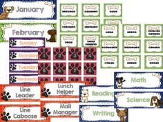 Dog theme classroom!