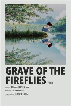 Studio Ghibli Poster, Studio Ghibli Art, Studio Ghibli Movies, Firefly Movie, Animes To Watch, Anime Watch, Grave Of The Fireflies, Marvel Movie Posters, Anime Suggestions