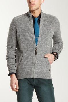 Ben Sherman Zip Front Sweater