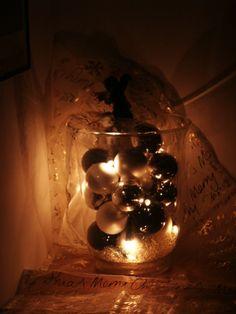 Deko Licht Glas