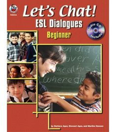 #CDWishList Let's Chat! ESL Dialogues Resource Book - Carson Dellosa Publishing Education Supplies