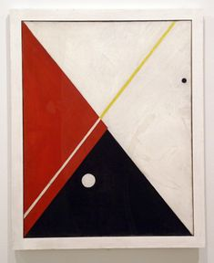 """""""Untitled,"""" by Alexander Calder, oil on canvas, 38 1/2 by 28 3/4 inches, 1930, Calder Foundation, New York."""