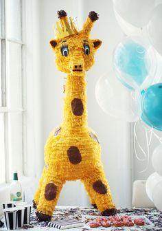 Birthday Decor and Games, Giraffe Pinata
