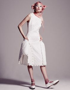 Fernanda Ly by Jerome Corpuz for W Magazine May 2015