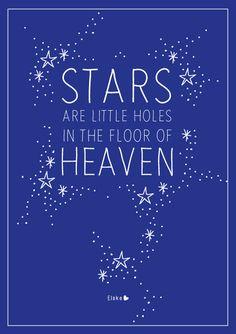 the floor of heaven                                                                                                                                                      More