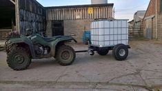 atv water bowser ibc 600 litre water carrier, tanker For Sale in Highbridge, Somerset Quad Trailer, Utility Trailer, Off Road Wheels, Wheels And Tires, Ibc Tank, Utv Accessories, Tractor Attachments, Compact Tractors, Farm Tools
