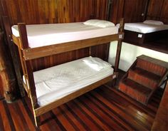 Bunk Beds and Single Beds in our dorms at Hostel Plinio
