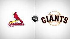 St. Louis Cardinals vs. San Francisco Giants @ AT Park (San Francisco, CA)