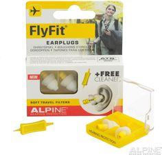Earplugs Flyfit Alpine Travel Ear Plugs Sleep Relax Noice Protection Reusable