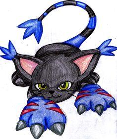 Black Tailmon. It´s a amazing drawing.