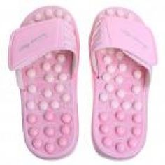 Foot Care Massage / Orthotic Sandals with Acupressure Points (Pink)