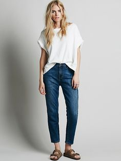 Free People Hi Rise Relaxed Jean, $98.00