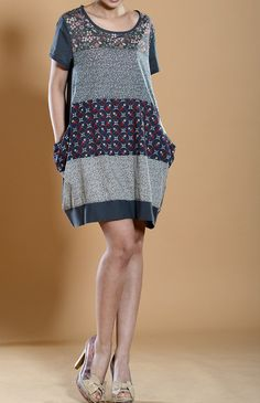Mini cotton tunic dress by MaLieb on Etsy, $72.00