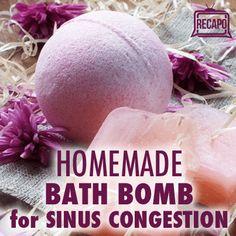 Dr Oz: Sinus Congestion Bath Bomb Recipe & Yogurt Sunburn Remedy