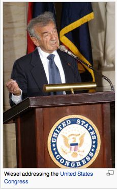 Holocaust survivor Elie Wiesel celebrated the anniversary of Chabad-Lubavitch activities in Budapest, his first official trip back to the country from which he and his family were deported more than 60 years ago. Ellie Wiesel, Buchenwald Concentration Camp, Show Me A Hero, Social Studies Curriculum, United States Congress, Human Rights Activists, The Orator