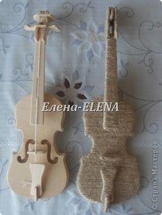 Моделирование - МК скрипки