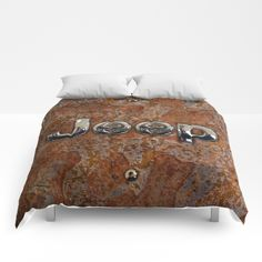 Rustic Jeep COMFORTERS #comforters #bedroom #room #home #homedecor #rustic #jeep #steampunk #logo #typograph #wrangler #landrover #car #abstract #volkswagen #vehicle #autocar #suv #offroad #rangerover #4x4