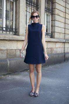 TWIGGY A-LINE DRESS   FashionMugging