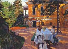 "Sergei Vinogradov (Russian, 1869-1938)  ""In Summer"""