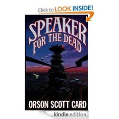 Geeking Out: Speaker for the Dead: 2.  Hoping to lose myself for a few hours on the plane...