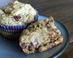 Cranberry Avocado Muffins w/ Toasted Walnuts